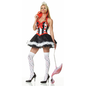 Enchanting Queen Of Hearts Costume