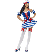 Fever Boutique Sailor Sweetie Costume