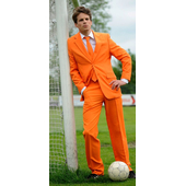The Orange Oppo Suits