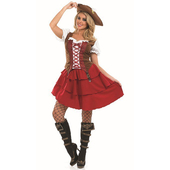 Plus Size Deck Hand Girl Costume