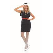 Plus Size Ladies Sailor Girl Costume