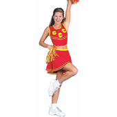 Pep Squad Cheerleader Costume