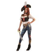 Pirate's Booty Ladies Costume