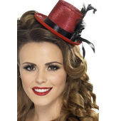 Red Mini Top Hat