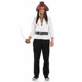 Men's White Pirate Shirt