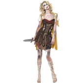 Ladies Zombie Gladiator Costume