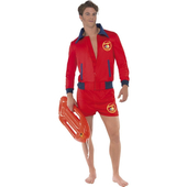 Mens Baywatch Costume