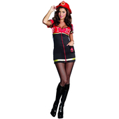 Burn Baby Burn Ladies Costume