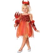 Lil' Devil Girls Costume Dress