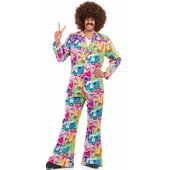 Mens Psychedelic Costume