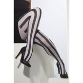 Striped Tights - Black/White