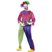 Kolorful Killer Clown Costume