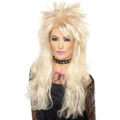 80's Long Blonde Mullet Wig