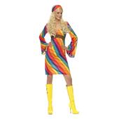 Rainbow Hippie Costume