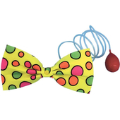 Large Water Squirt Clown Bow