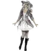 Ladies Ghost Ship Pirate Treasure Costume