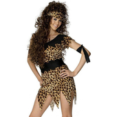 Crazy Cavewoman Costume