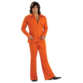 Mens Leisure Suit Orange