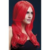 Deluxe Khloe Wig - Neon Red