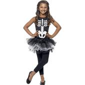 Kids Skeleton Tutu Dress