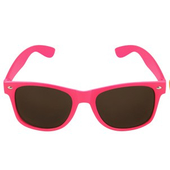 Neon Pink Glasses