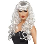 Siren Wig - white