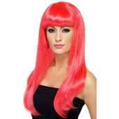 Babelicious Wig - Neon Pink