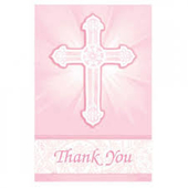Elegant Cross Thank You