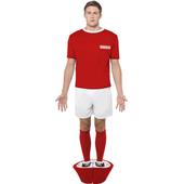 Subbuteo Red Costume