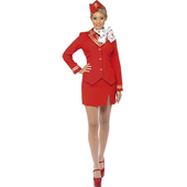 Red Trolley Dolly Costume