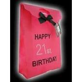 Happy 21st Birthday Gift Bag