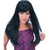 Glamour wig - black