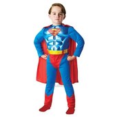 Muscle Chest Superman Kids