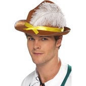 Bavarian Hat - Brown