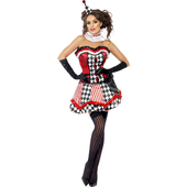 Ladies Clown Cutie Costume
