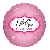 """Girls Night Out Foil Balloon - 18"""""""