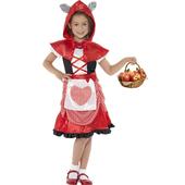 Tween Red Kids Riding Hood Costume