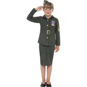 WW II Army Girl Costume