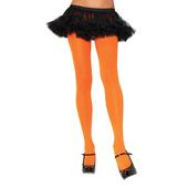 Orange Nylon Tights by Leg Avenue™