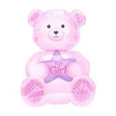 Girl Bear Balloon