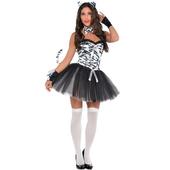 Ladies Zebra costume