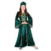 kids medieval maiden costume