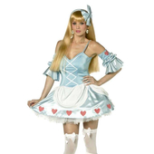 Rebel toons Alice in wonderland costume