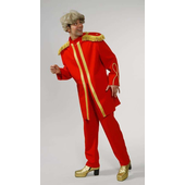 Deluxe Sgt. Pepper Costume - Red
