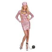 Pink Jail Bird Costume