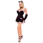 Kiss Me Kitty Costume