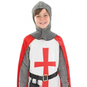 Kids Crusader knight costume