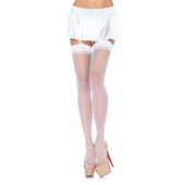 Sheer Stockings White