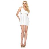 Goddess Athena white dress
