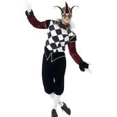 Gothic Venetian Harlequin Costume